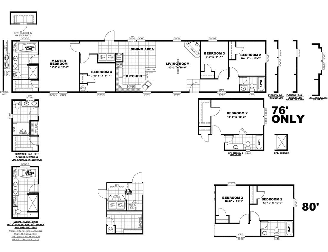 The DECISION MAKER 16764F Floor Plan