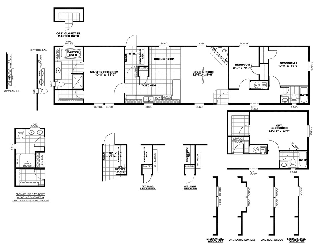 The DECISION MAKER 16683A Floor Plan