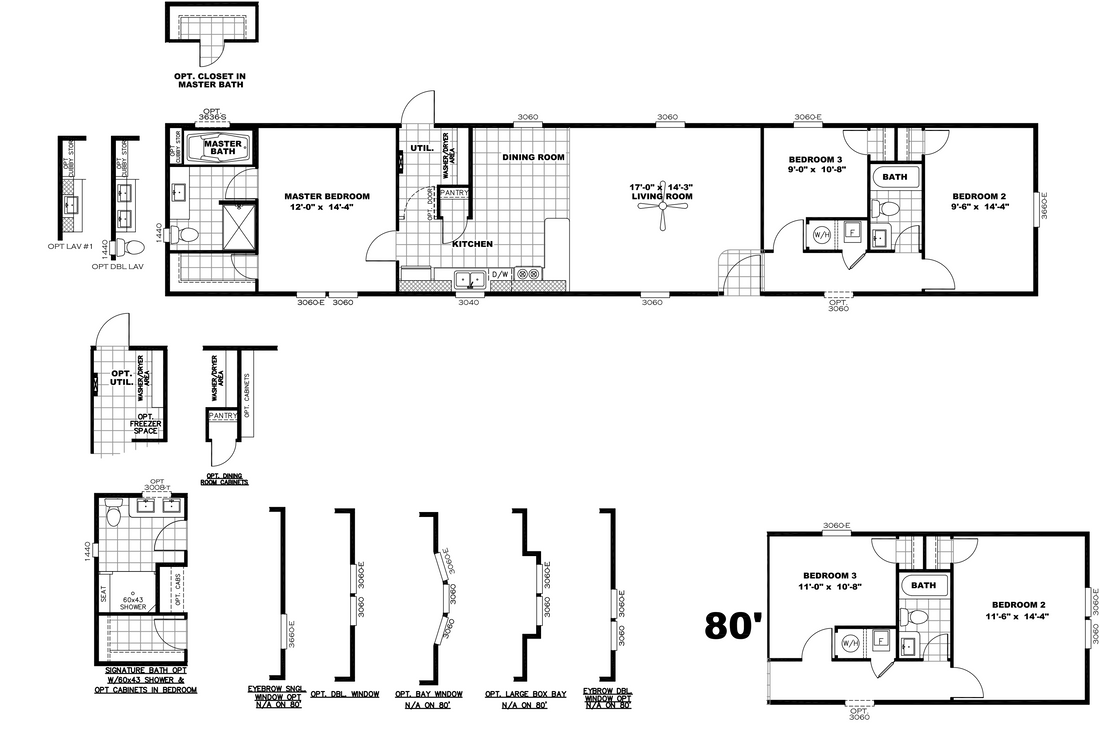 The DECISION MAKER 16763A Floor Plan